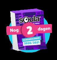 Squla geeft tijdelijk € 12,- korting en een scheurkalender t.w.v. € 14.95