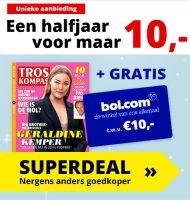 Gratis Bol.com € 10 cadeaubon bij Troskompas van € 10