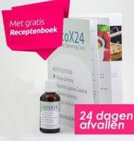 Afvallen met Calorietje + Gratis receptenboek