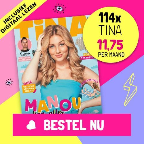 Tina tijdschrift met 20% korting en Gratis Digitaal