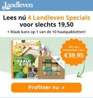 Landleven tijdschrift met kans op haakpakket t.w.v. € 39,95