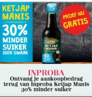 Gratis Fles Inproba Ketjap Manis t.w.v. € 0,69 proberen?