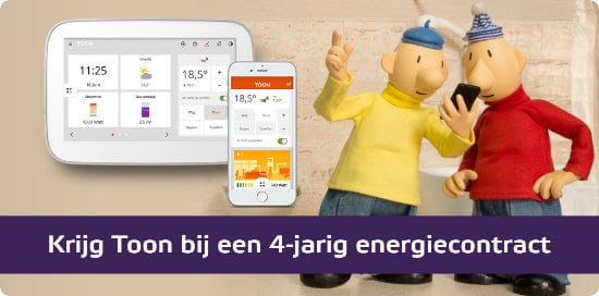 Gratis Eneco TOON Thermostaat t.w.v. € 200.-