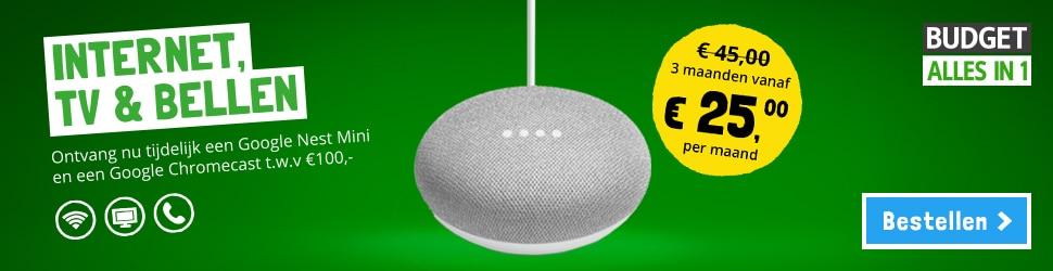 Gratis Google Nest Mini en Google Chromecast