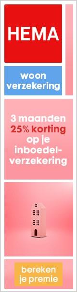 Cadeaukaart t.w.v. €25 + 25% korting bij woonverzekering