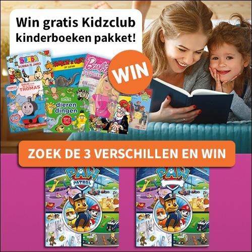 Doe mee voor een gratis Kidzclub kinderboekenpakket