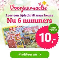 Favoriete Tijdschrift abonnement vanaf € 9,95