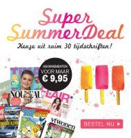 Goedkope Tijdschriften in Super Summer Deal