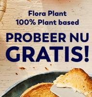 Gratis 100% Plantaardige Boter t.w.v. € 2,29