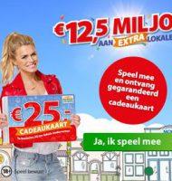 Postcode loterij uitslagen in jou voordeel?