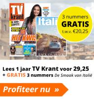 Tv Krant aanbieding met Gratis 3 nummers De Smaak van Italië