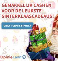 Verdien Gratis cadeaus voor Sinterklaas