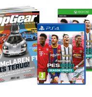 TopGear abonnement met Gratis PES 2021 Game t.w.v. € 29,95