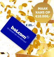 Staatsloterij Jackpot winnen en Gratis Bol.com cadeaubon ontvangen