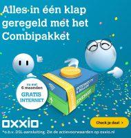 Ontvang Oxxio internet nu 6 maanden Gratis