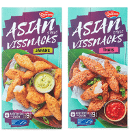 Test Gratis het product Asian style vissnacks