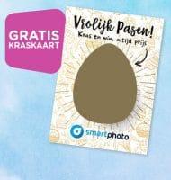 Smartphoto prijzenfestival met Gratis kraskaart