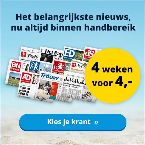 Wil je 4, 6 of 8 weken Gratis het AD lezen?
