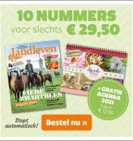 Landleven tijdschrift met gratis agenda 2021 t.w.v. €12,95