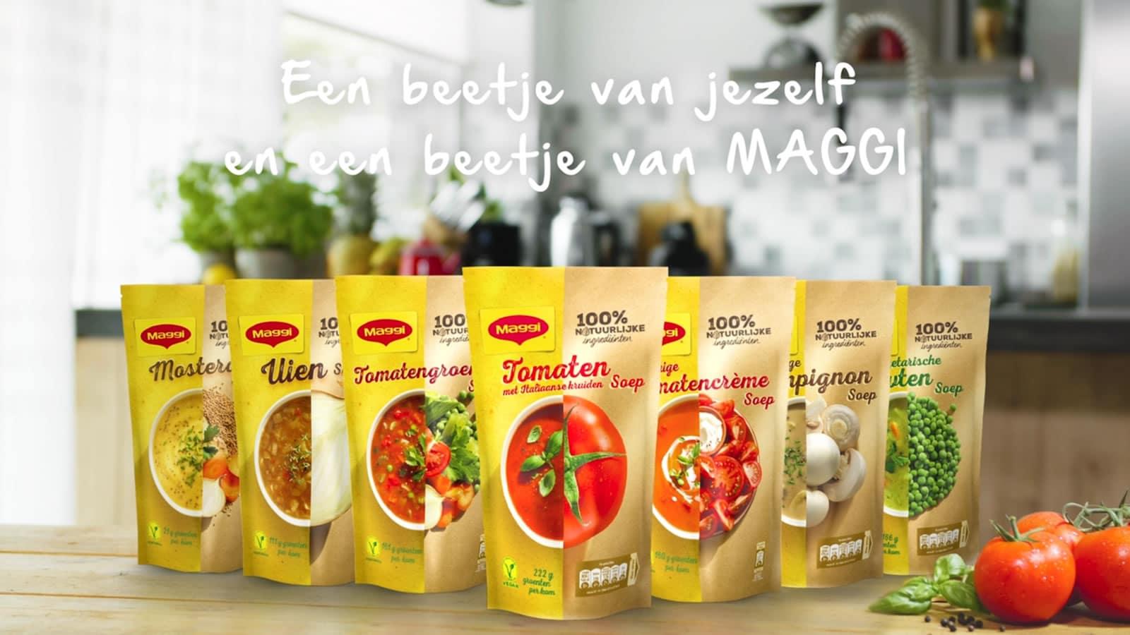 Ontvang het bedrag terug van Maggi soep in zak t.w.v. € 2,89