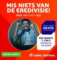 Gratis 30 dagen Canal Digitaal + Fox Sports