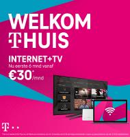 T-Mobile Tv en Internet nu € 30.- per maand