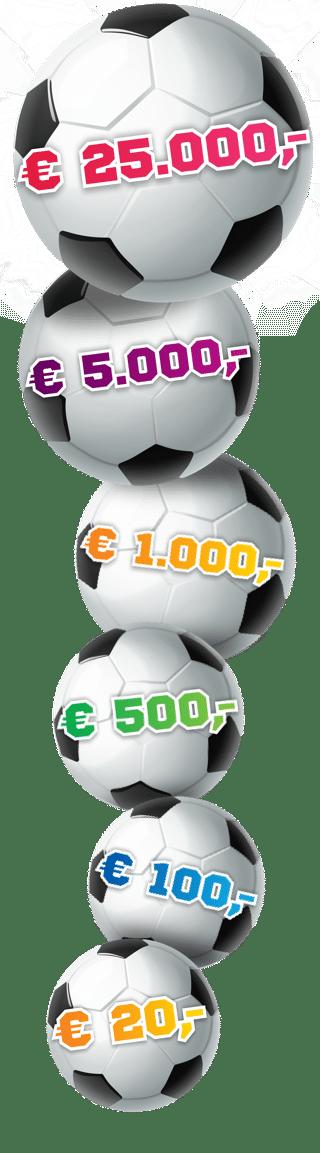 Steun je club en ontvang € 20.- bij de Vriendenloterij