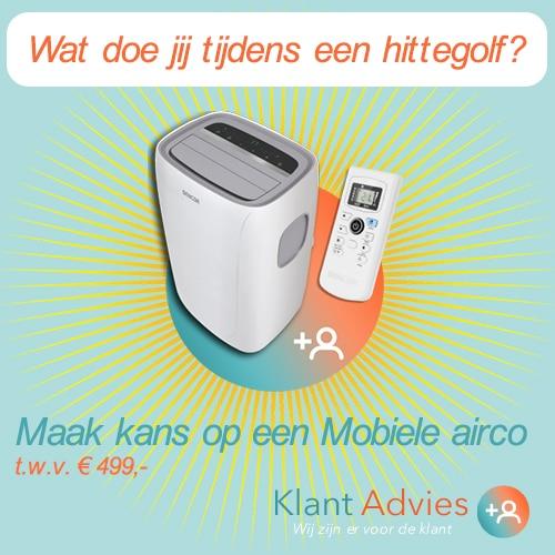 Maak kans op een Mobiele airco van € 499.-