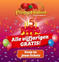Gratis tickets voor het Plopsa attractiepark