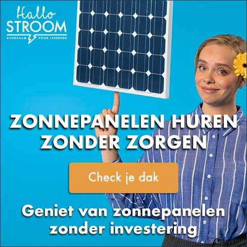 100% zonne-energie zonder investering