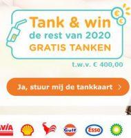 Win Gratis tanken voor de rest van 2020 met Tankkaart