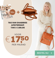 Libelle abonnement met Gratis Shabbies Amsterdam tas t.w.v. € 199.95