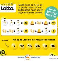 Lottotrekking met Gratis kans 5, 10 of 45 Loten