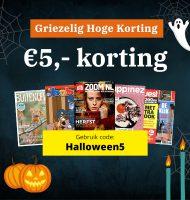 Griezelig Goedkope Tijdschriften met € 5.- korting