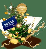 Met Staatsloterij Lot een kerstboom cadeau