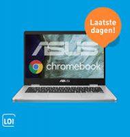 LOI thuisstudie met 35% korting en ASUS Chromebook t.w.v. € 349,-