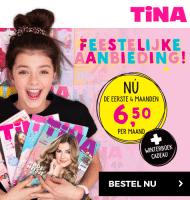 Tina tijdschrift met Gratis Tina winterboek