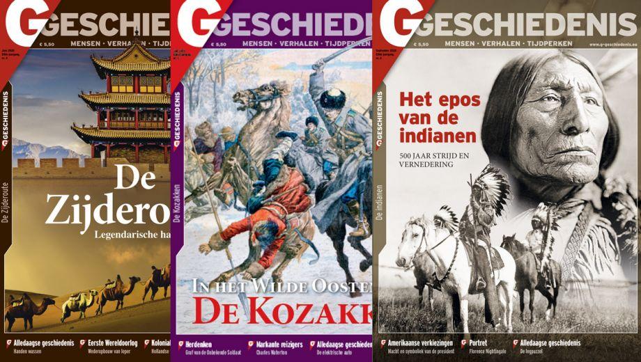 G-Geschiedenis tijdschrift met Gratis special t.w.v. € 9.95