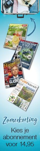 12 Tijdschriften lezen met tot 57% zomerkorting