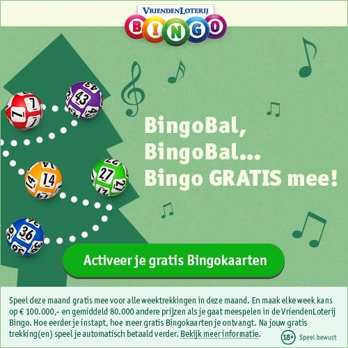Activeer jouw GRATIS Vriendenloterij Bingokaarten