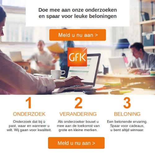 Bij het GfK Panel gratis cadeaubonnen sparen