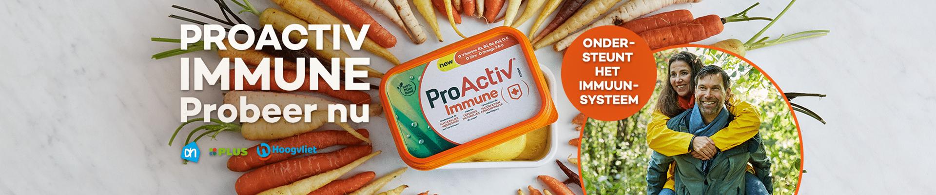 Probeer Gratis kuipje boter ProActiv Immune
