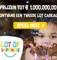 Doneer aan een goed doel en maak kans op € 500.000,-.