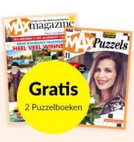 Max abonnement met gratis 2 puzzelboeken