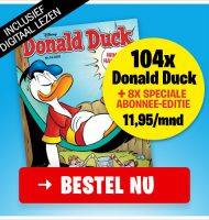 Donald Duck abonnement met Gratis 4 speciale edities