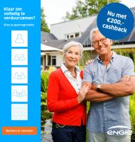 ENGIE 100% groen en € 200.- Cashback