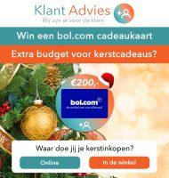 Wat doe jij tijdens de Kerstdagen? Win met Bol.com