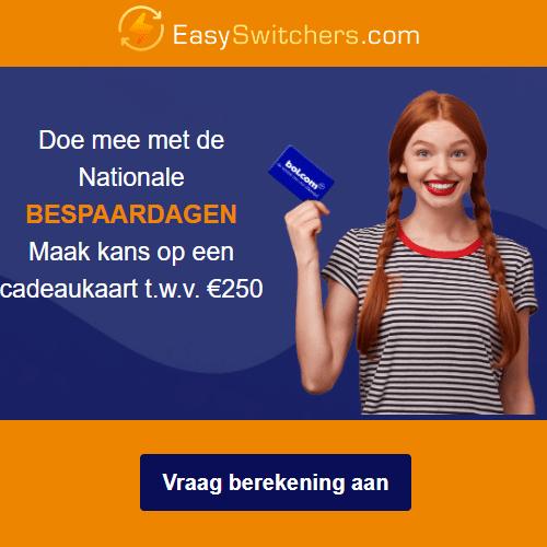 Win Bol.com cadeaukaart t.w.v. € 250,- met energie check