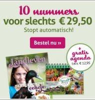 Landleven tijdschrift met gratis agenda 2022 t.w.v. € 12.95