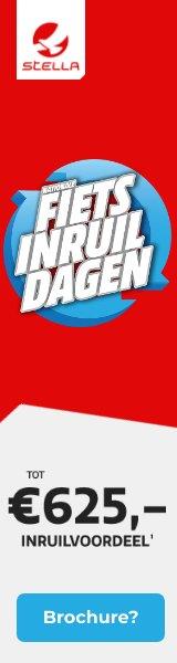 Gratis brochure Stella Fietsen en inruilvoordeel tot € 625,-